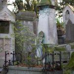 Tombe d'Edmond et La tombe de Juliette Adam après le vol du bronze
