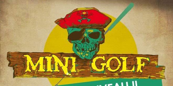 Le mini golf des pirates du Slide Nautic à Verberie
