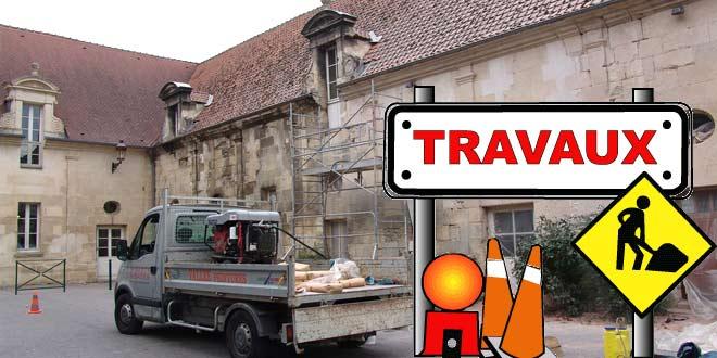 Travaux dans la commune : le vitrail de l'église et le château d'Aramont