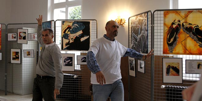 Invitations d'artistes à la bibliothèque : rencontre entre humour et poésie