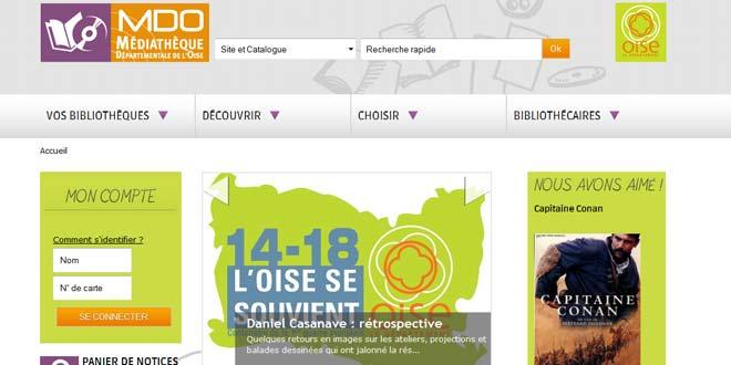 Médiathèque de l'Oise : des formations et des magazines en ligne