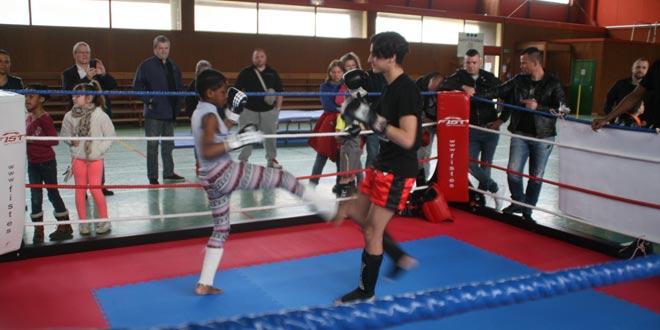 Passage de grades au boxing club de Verberie