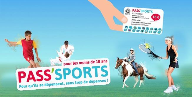 Le pass'sports c'est 15 euros offerts par le département pour les jeunes de moins de 18 ans qui s'inscrivent dans un club sportif de l'Oise.