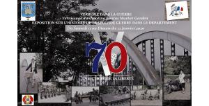 Exposition sur la seconde guerre mondiale dans l'Oise
