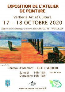 Exposition de l'atelier de peinture @ Salle des expositions - Château d'Aramont
