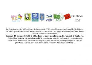 Journée festive du périscolaire @ Parc du Château - Verberie